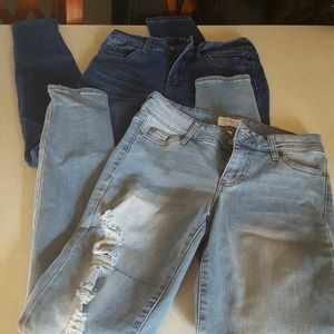 2 pairs of Junior Jeans size 3
